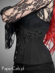 Underbust Black Ornament